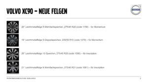 Volvo XC90 MY2020 Update Facelift